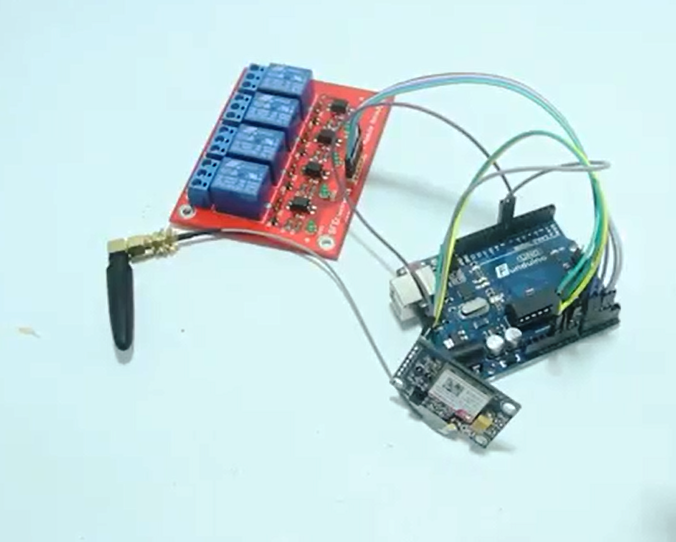 Picture of SMS Controller by Using SIM800L V2