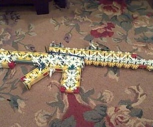 AK-47, M4 Carbine, Shotgun, and My New Mag Desighn