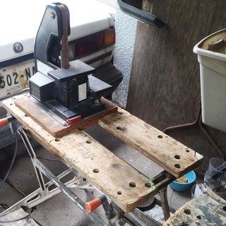 An Heirloom Apartment Workbench.