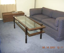 Window Pane Coffee Table