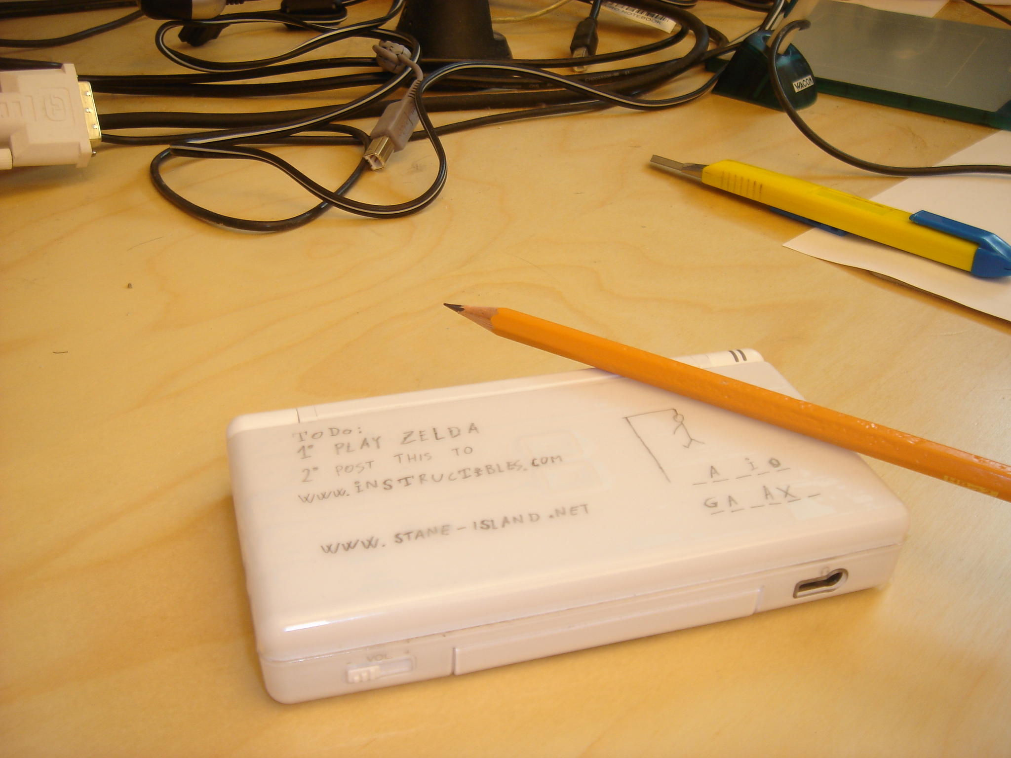 Picture of Nintendo DS Lite Notepad