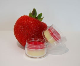 Strawberry Cheesecake Lip Balm Recipe