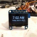 Simplest ESP8266 Local Time Internet Clock With OLED