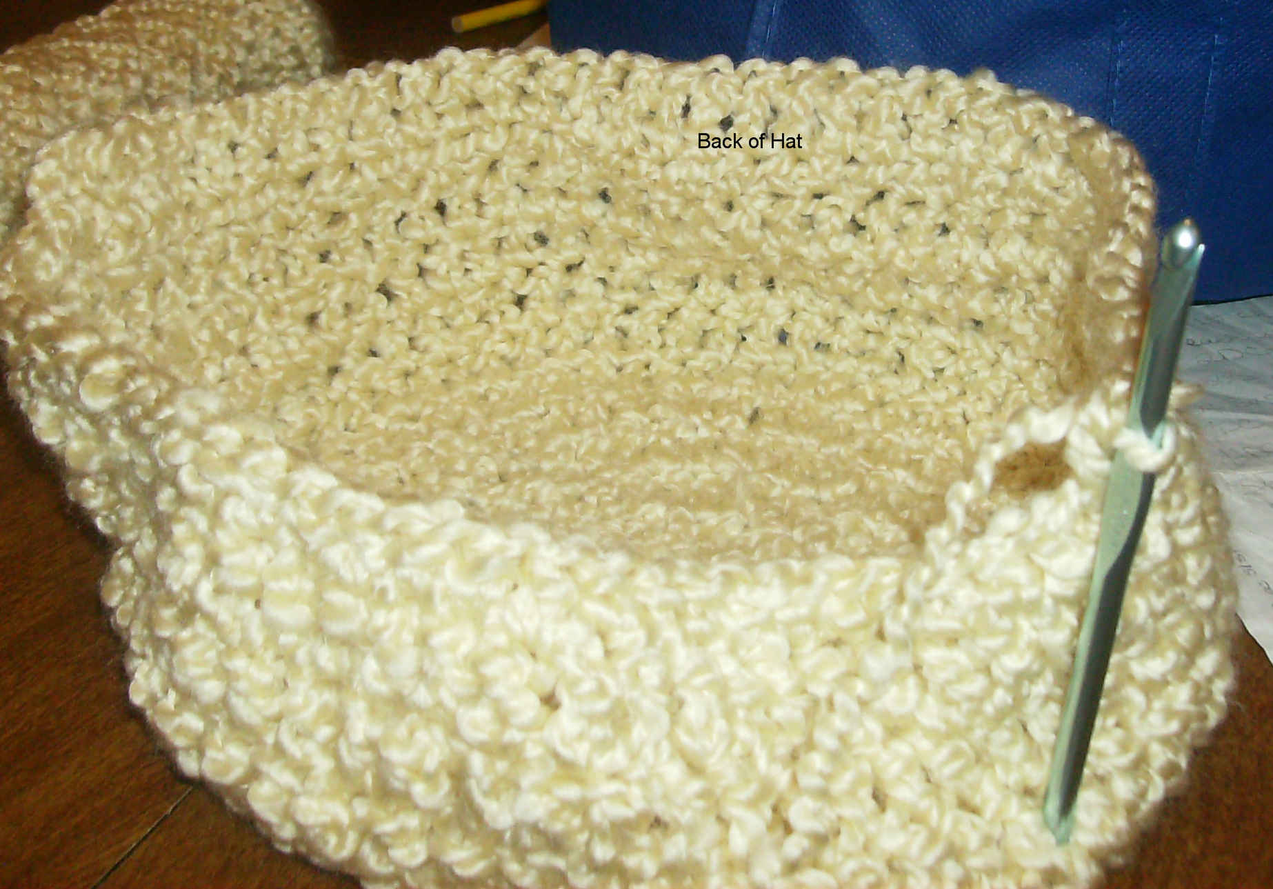 Picture of Making the Back of the Hat