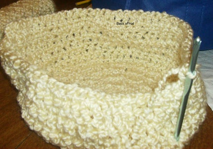 Making the Back of the Hat