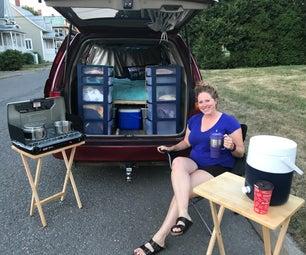 Chic Camping Mini Van Convert