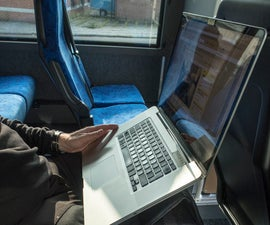 Portable Computer Stand for Commuters