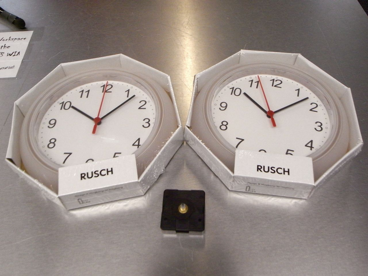 Picture of Get Clock Parts