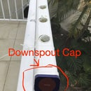 Downspout Cap for Hydroponic System