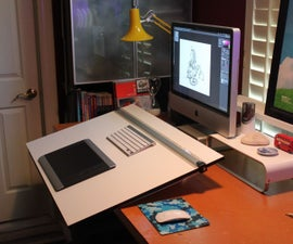 Removable Drafting Table