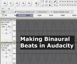 Make Binaural Beats With Audacity