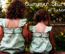 Summer Shirt Tutorial