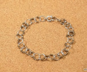 DIY How to Make a Beaded Chain Bracelet
