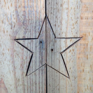 Cut Out and Sand the Star