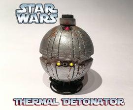 Star Wars Thermal Detonator 3d Printed