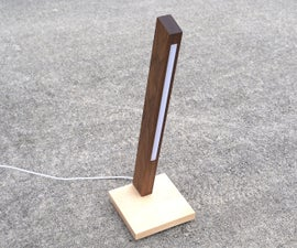 LED LAMP With Hidden Wireless Charger
