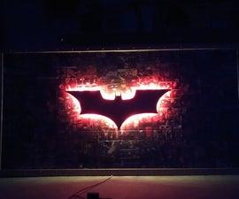 Making Batman Wall Decor Using Old Comics