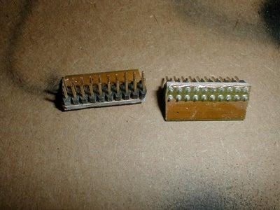 Prepairing the Pin Connectors
