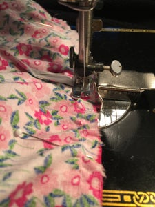 Attaching the Skirt to the T-shirt Top