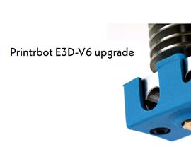 Printrbot Simple Metal E3D V6 Upgrade