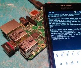 Headless Raspberry PI WiFi setup (for mobiles)
