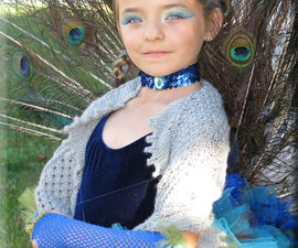 Peacock Princess Costume (fully articulated tail)