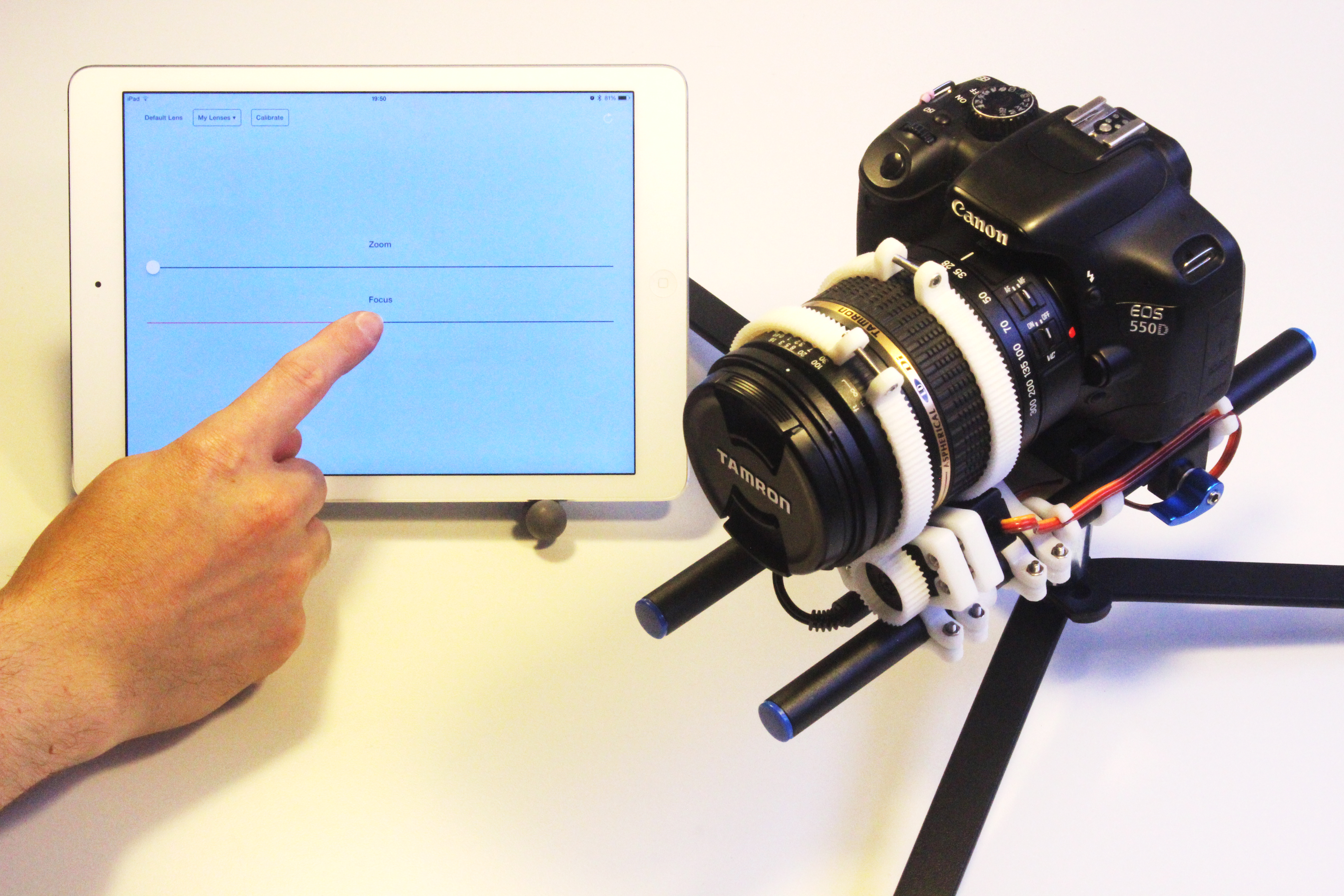 Picture of Wireless Control of Your DSLR