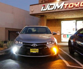 How To Convert Toyota Camry Turn Signal Lights to LED DRL
