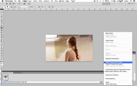 Create a Frame Animation