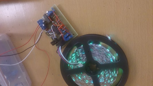 RGB Music Controller With AGC