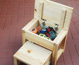 Stepstool and Toolbox in One!