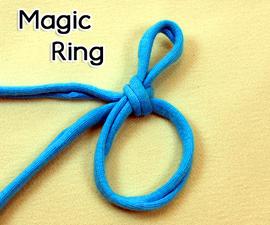 How to Crochet the Magic Ring (adjustable ring, magic circle, magic loop)