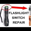 How to Repair Flashlight Switch (Fix Tailcap Switch)