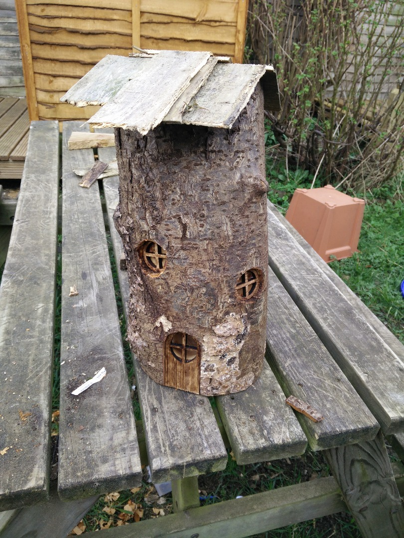 Picture of Log Fairy House