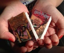 Mini Harry Potter Book