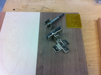 Cutting the Hardware Holes.....
