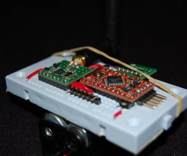 Wireless Accelerometer Controlled rgb-LED's
