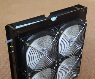 Air Purifier With Variable Speed Fan and HEPA Filter