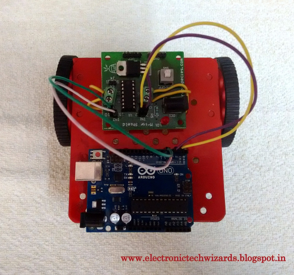 Picture of LETS MAKE THE ROBOT: