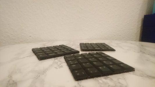 Keyboard Coasters