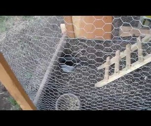 Cheap Chicken Tractor