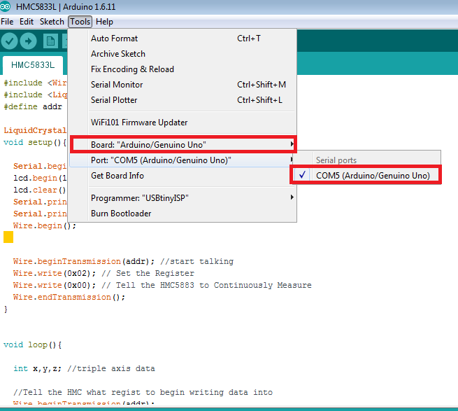 Picture of Sample Source Code