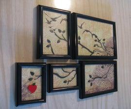 3-Layer Frame Art