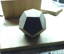 Wooden Dodecahedra