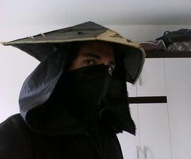 Cardboard Waterproof Kage Hat