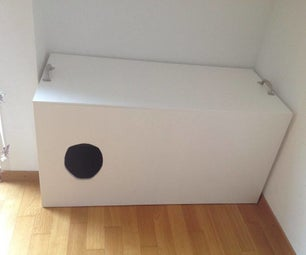 Cat Litter Protection Box