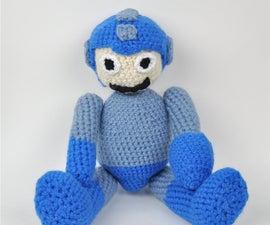Crochet Megaman (Mega Man) Amigurumi