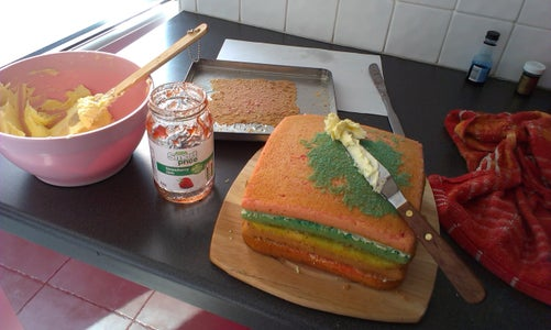 TUMBLR Cake