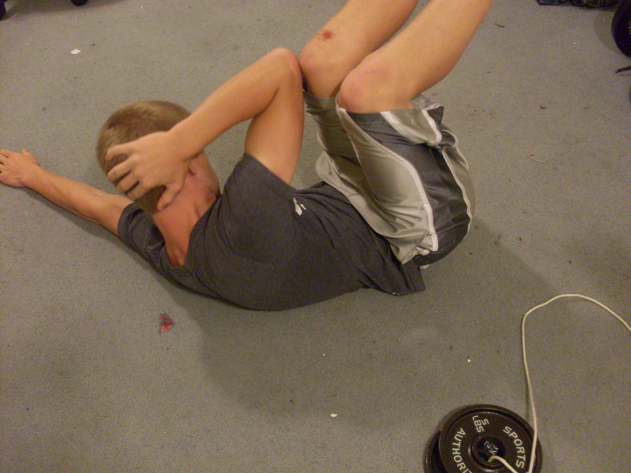 Picture of Side Crunches