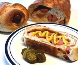 Smokin' BBQ Hotdog Bread